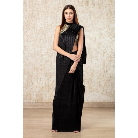 Dola Silk saree & Bangalori Silk Blouse Dark Red