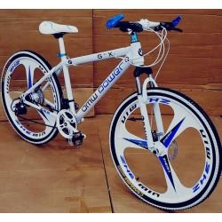 BMW White Folding Sports Cycle