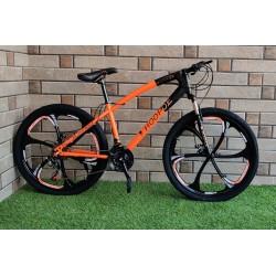 HOOPOE Orange Folding Cycle