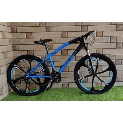 HOOPOE Blue Folding Cycle