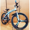 M-BENZ Sky Blue Folding Cycle