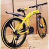 M-BENZ Yellow Folding Cycle