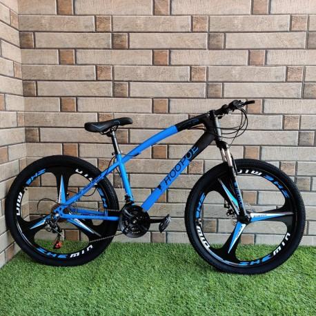 HOOPOE Sporty Blue Folding Cycle