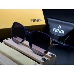 FENDI Blue Sunglasses for women