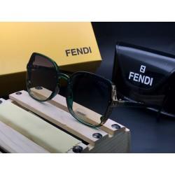 FENDI Green Sunglasses for women