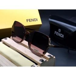 FENDI Brown Sunglasses for women