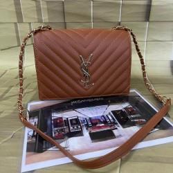 YSL SLING Brown Ladies Bag