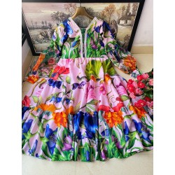 SUMMER SPECIAL PRINTED GOWN