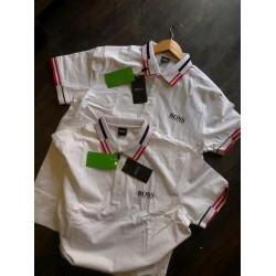 BOSS White T-shirts