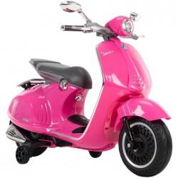 VESPA Pink KIds Battery Scooter