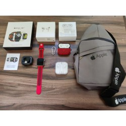 SERIES 6 SMART WATCH red