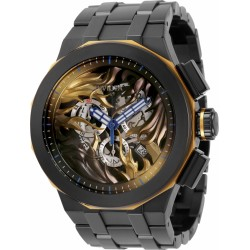Luxury items invicta black dial